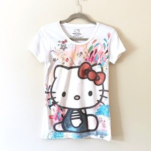 Sanrio Hello Kitty colorful T-shirt